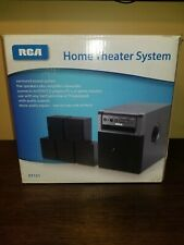 Rca Rt151 Home Theater Surround System - 5 Speakers + Amp-Subwoofer - In Box!
