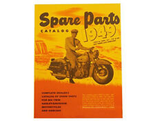 Factory Spare Parts Catalog for Harley 1937 - 1949 Ul Knuckle Pan 154 p