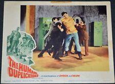 THE HUMAN DUPLICATORS 1964 ORIGINAL 11x14 LOBBY CARD #7! RICHARD KIEL SCI-FI!