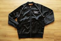 HUF CABBIE SATIN JACKET NEU BLACK GR:M HUF WORLDWIDE