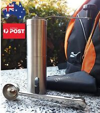 NEW Single Serve Travel Size Manual Coffee Grinders Portable Stainless Steel