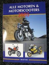 de Alk Book Alle Motoren & Motorscooters 2005 Ruud Vos (Nederlands) #440