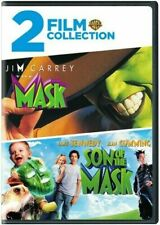 The Mask + Son of the Mask DVD Jim Carrey 1994 BRAND NEW 2 FILM COLLECTION WB