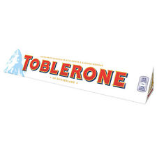 2 x 360g bars of White Swiss imported chocolate toblerone