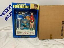 1977 Classic Batman & Robin Janex Battery Powered Toothbrush In Mail Away Mailer