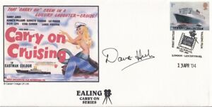 Carry on Cruising Signed by Dave Hill Actor Films & TV   FDC
