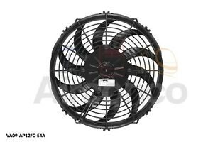 "Spal Axial Fan, VA09-AP12/C-54A, 12v (Pull) 11"" (280mm) - Genuine Product"