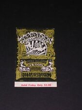 BG142 JEFFERSON AIRPLANE Psychedelic FILLMORE TICKET by LEE CONKLIN