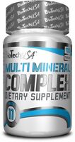 BioTech USA MULTI MINERAL COMPLEX 100/200 Tablets Strong Complex for men & woman