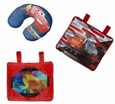 Disney Pixar Cars Mcqueen Travel Trio 3 in 1 Cushion Neck Pillow Tablet Holder