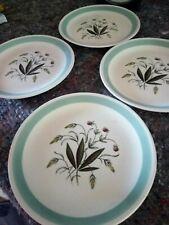 "Set 4 Vintage Hedgerow Crown Goldendale 7"" Small side Plates (Meakin)"