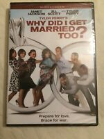 Why did I get Married Too? (Tyler Perry, Janet Jackson, Jill Scott) - DVD *New*