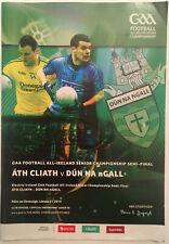 2014 GAA All-Ireland Football S-Final DUBLIN v DONEGAL  Programme