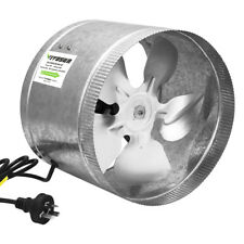"VIVOSUN 4"" 6"" 8"" 10"" inch Inline Duct Booster Exhaust Fan Ventilation Air Blower"