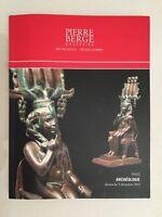 Catálogo De Venta Piedra Bergé & Relacionados Arqueología París Diciembre 2010