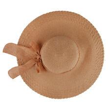 Sun for Floppy+Beach Brim Wide Large US Cap Straw Women Big Bow Summer Big Hat