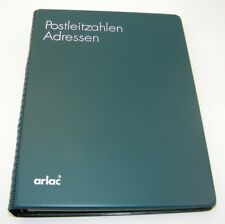 Arlac - Adressbuch Art.Nr. 89.59 Ringbuch mit alphabetischem Register grün
