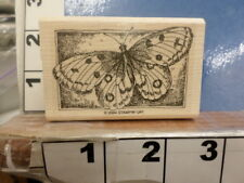 Stampin Up! Butterfly insect Rubber Stamp 35E