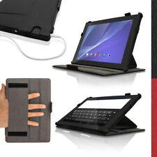 Carcasas, cubiertas y fundas negro Xperia de piel sintética para tablets e eBooks