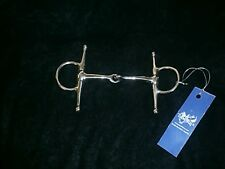 """FULL CHEEK SNAFFLE BIT Stainless Steel  Pony size 4"""" English Showing Hunting"""