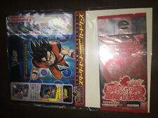 Dragon Ball Kai Dragon Battlers Booster 3 Promo + Deck Box Not For Sale