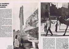 Coupure de presse Clipping 1978 Michel Sardou  (2 pages)