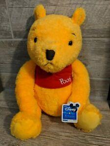 "Disney Winnie the Pooh Plush Classic Pooh Bear 13""  Sega NWT"