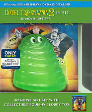 Hotel Transylvania 2 - 3D Bluray DVD DIGITAL OA Best Buy sealed WITH BLOBBY TOY
