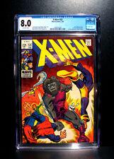 COMICS: X-Men #53 (1969), 1st U.S. comic work of Barry Windsor-Smith - CGC 8.0