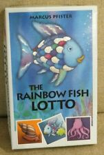rare The Rainbow Fish Lotto matching memory game Marcus Pfister 1-4 players 3-6y
