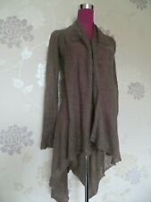 Stunning All Saints Lavernti Cardigan Brown Size 6 (6-10) Excellent Condition