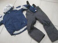 Kids boys MOUNTAIN WAREHOUSE salopettes GIL jacket SKI SUIT 7 8 9 10 years