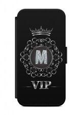 iPhone Letra M Funda Flip cubierta de la caja sobres Protección VIP para móvil
