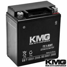 12V Battery KMG Motorcycle Scooter ATV Snowmobile Mowers PWC Watercraft YTX7L-BS