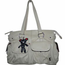 Il Tutto Mia Cream Nappa Leather Changing Nappy Bag & Accessories NWOT SP £278