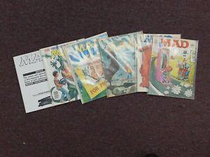 Lot of 11 Vintage Mad Magazines