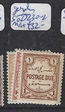 JORDAN (P2702B) POSTAGE DUE SG D230-2  MNH