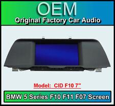 "BMW 5 Series display screen, BMW F10 F11 F07, CID F10 7"", LCI Multi function"