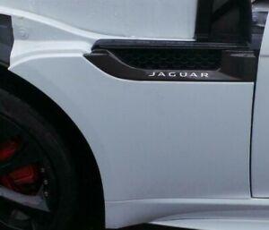 Jaguar F-Type X152 2013-> LH UK Passengers Front Wing Yulong White