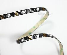 60 Leds/m WS2812B 5050 Digital RGB LED Strip Addressable (5M WATERPROOF BLACK)