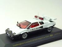IXO 1/43 Lamborghini Countach 5000S Police car TYPE Annular Japan Limited Rare