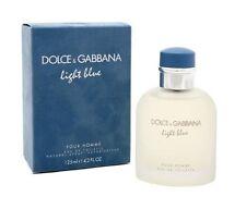 Light Blue Dolce Gabbana Men 4.2 oz 125 ml *Eau De Toilette* Spray Nib Sealed