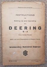 Agriculture/farming Massey Ferguson P Zcm164 Mower Parts Book