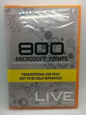 800 Microsoft Points for Microsoft Xbox 360 Live PAL BRAND NEW & SEALED