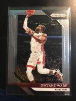 Dwyane Wade 2018-19 Panini Prizm #206 Base Miami Heat