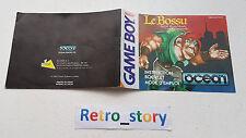 Nintendo Game Boy Le Bossu Notice / Instruction Manual