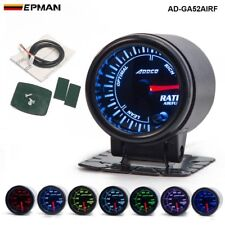 """Universal 2"""" 52mm 7 Colors LED Car Auto Air Fuel Ratio Gauge Meter With Holder"""