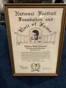 PERSONALLY OWNED Billy Cannon Actual College Football Hall of Fame Award LSU WOW
