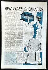 4 Birdcage designs 1939 HowTo Build INFO Unique vintage styles