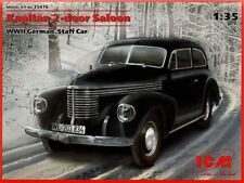 ICM 1/35 Kapitan 2 portes Berline 2ND GUERRE MONDIALE Allemand Chef Voiture #